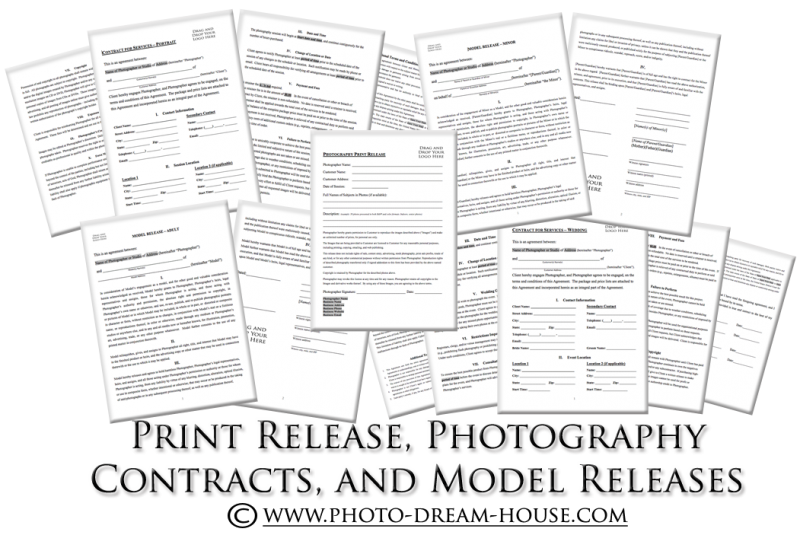 Print Release, Photography Contracts, and Model Releases ...