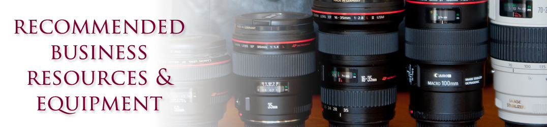 Get Recommended Photography Business Resources and Equipment