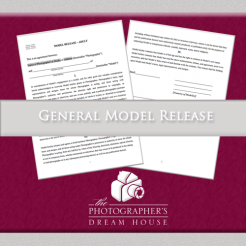 General Model Release - The Photographer's Dream House