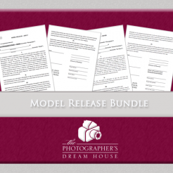 Model Release Bundle - The Photographer's Dream House