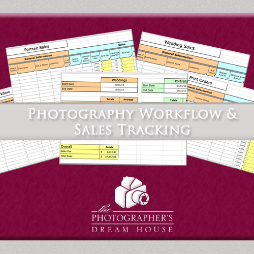 Photography Workflow and Sales Tracking Tool -The Photographer's Dream House