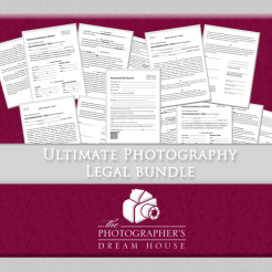 Ultimate Photography Legal Document Bundle - The Photographer's Dream House